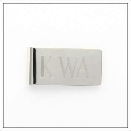 Plated Money Clip