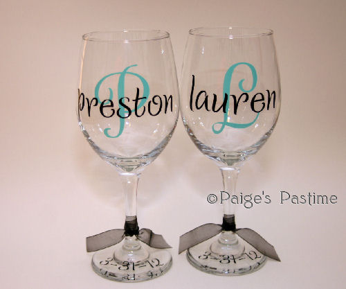 Wine Toasting Glasses