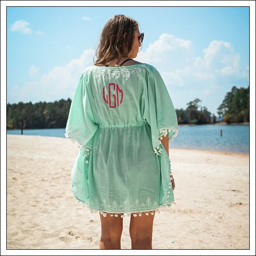Pom-Pom Beach Cover Up