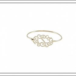 Floating Monogram Bangle