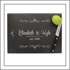Chalkboard Glass Cutting Board