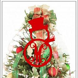 Christmas Wooden Monograms
