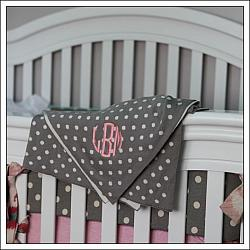 Dotted Baby Blankets