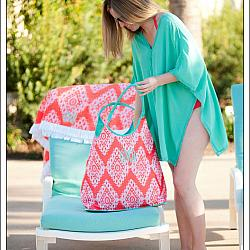 Coral Cove Beach Bag