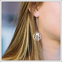 Elizabeth Dangle Earrings