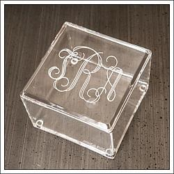Acrylic Square Box with Lid