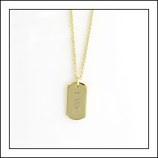 Dog-Tag Pendant
