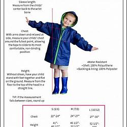 Children's Rain Jacket