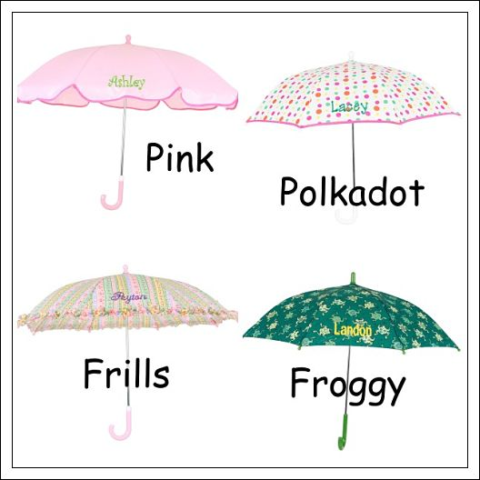 Children's Personalized Umbrella