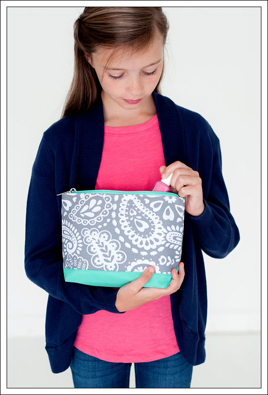 Parker Paisley Cosmetic Bag