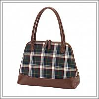 Avery Plaid Purse