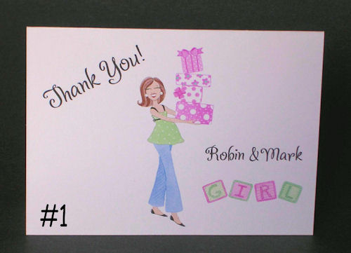 Parent's Baby Thank You Notes