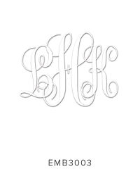 Embossing Stamp EMB3003
