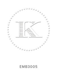 Embossing Stamp EMB3005