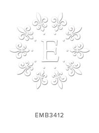 Embossing Stamp EMB3412