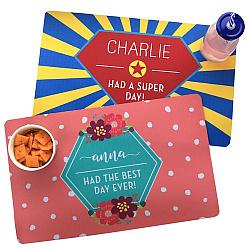 Children's Personalized Placemats