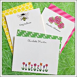 Flat and Folded Notecards