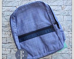 Toddler Chambray Backpack