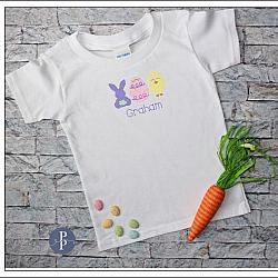 Bunny Egg Chick Easter Shirt