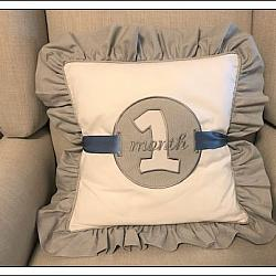 Milestone Baby Pillow Charms