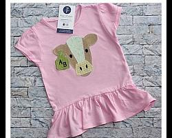 Applique Cow Shirt