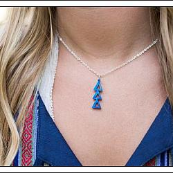 Acrylic Sorority Lavalier With Chain