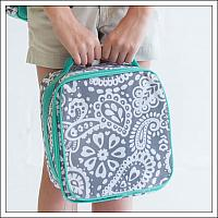 #WB-M380-PARKER Parker Paisley Lunch Box