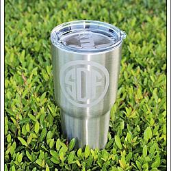 30 oz. Stainless Engraved Insulated Tumbler