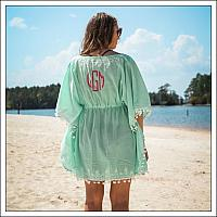 #HS-W278 Pom-Pom Beach Cover Up